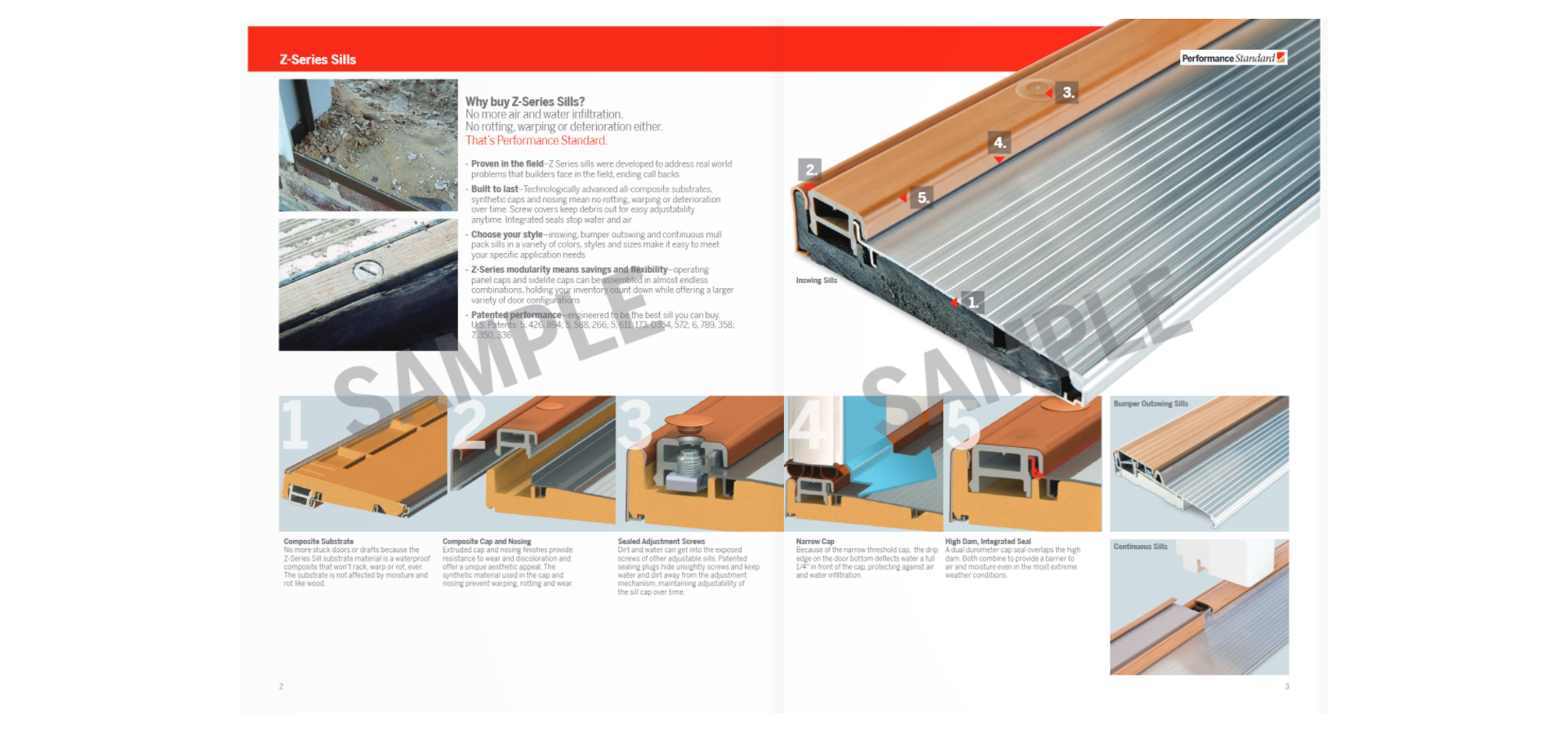 Endura Z-Series Sill Brochure